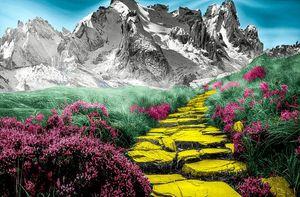 Yellow Brick Road - TUF LYFE ART