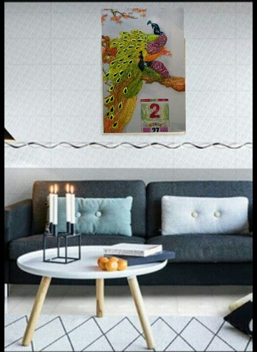 Relief mural calendar painting - Hanh Nguyen