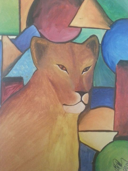 lion lady - melissa  Dowling