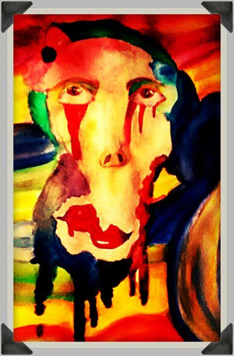 Melting face - melissa  Dowling