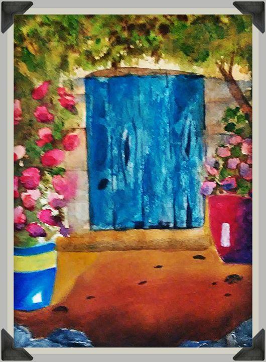 Door to panland - melissa  Dowling