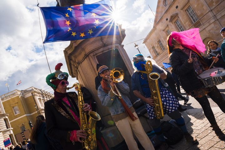 Brexit Band - Street Photography