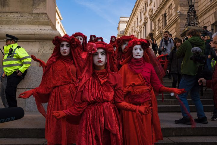 Red Rebel Brigade - Street Photography