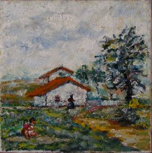 kids on the meadow