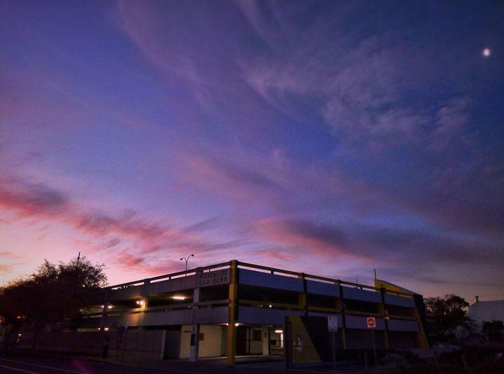 Pink sky at night - Ollie Mehra