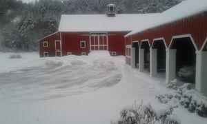 Rural New England Barn