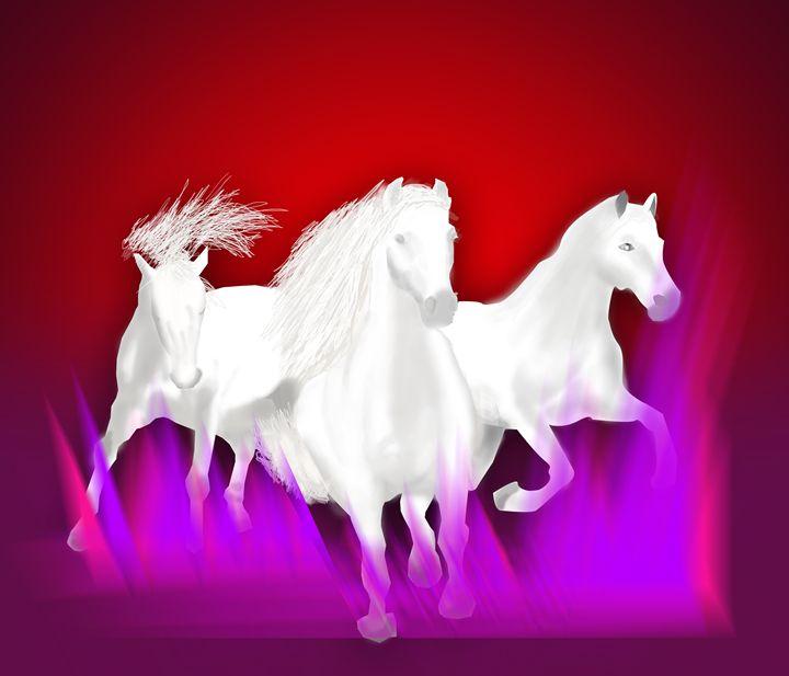 white Horses - Kchron