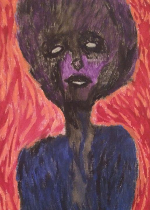Empty-eyed queen - Jon Crawford