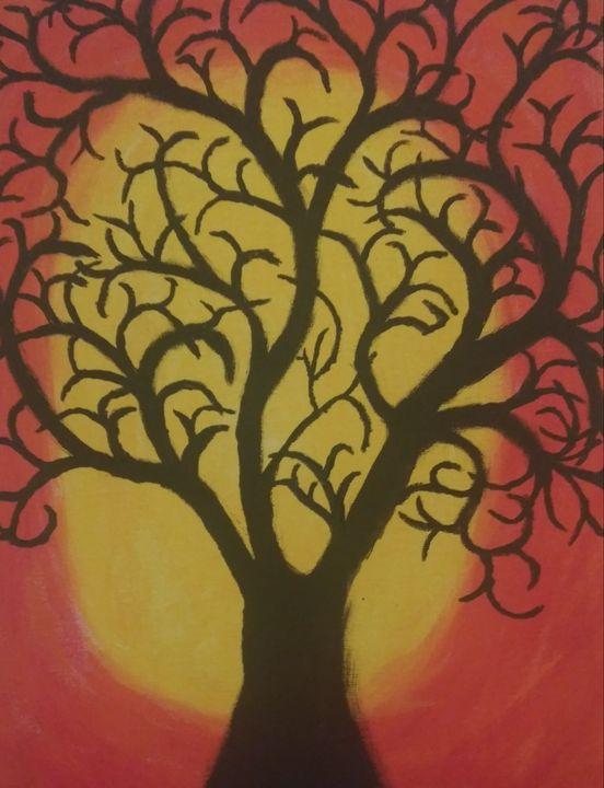 Sunset Tree - Jon Crawford