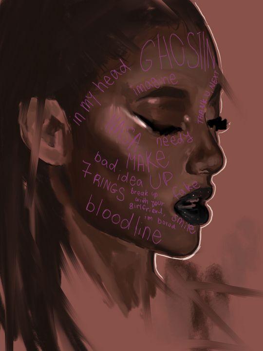 Ariana grande- thank u next - Littlearthingslea