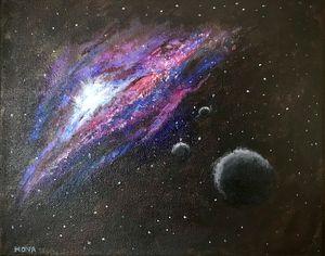 Racing Toward A New Galaxy - Arts By Nova