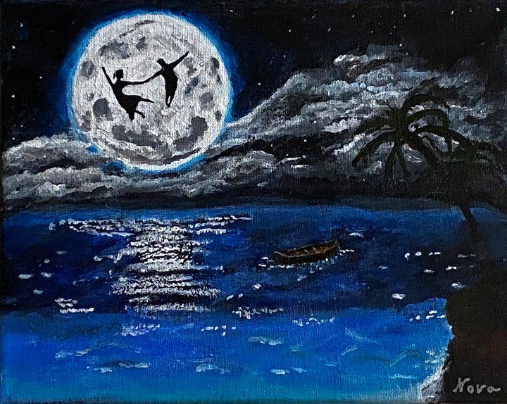 Dream Dance Over the Moon - Arts By Nova