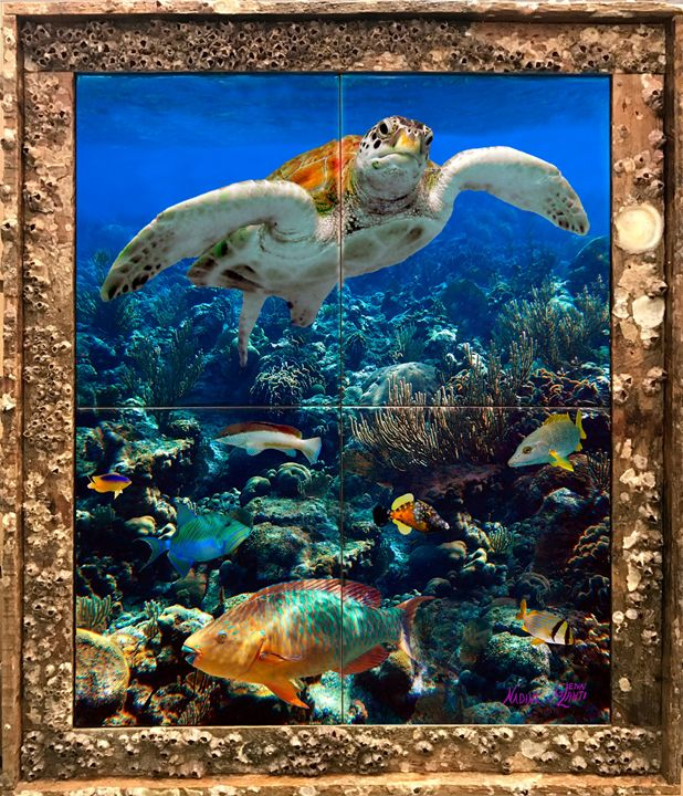 Managerie Reef - Lobster Trap Art