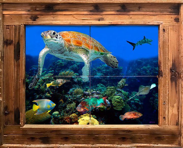 Sea Garden - Lobster Trap Art