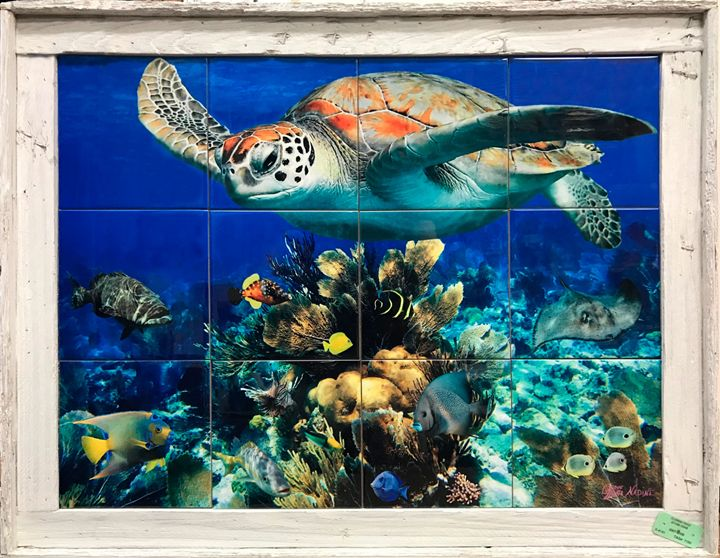 Coral Head Reef - Lobster Trap Art