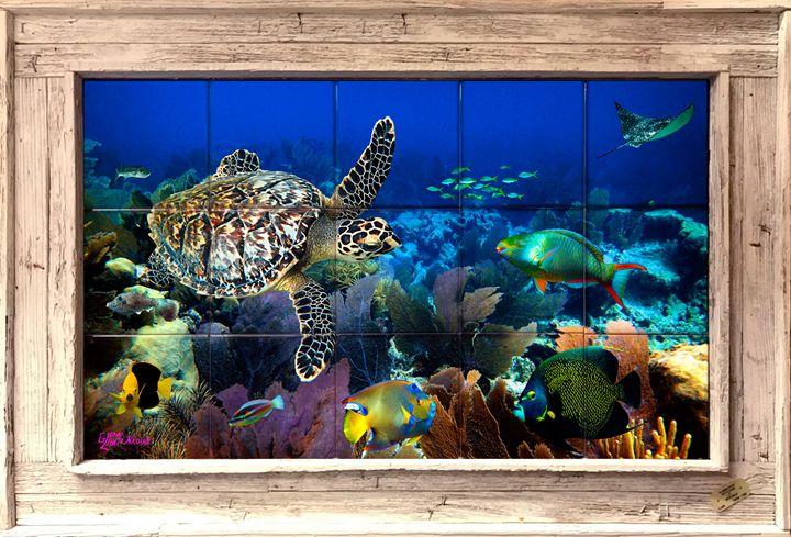 Fandango Reef - Lobster Trap Art