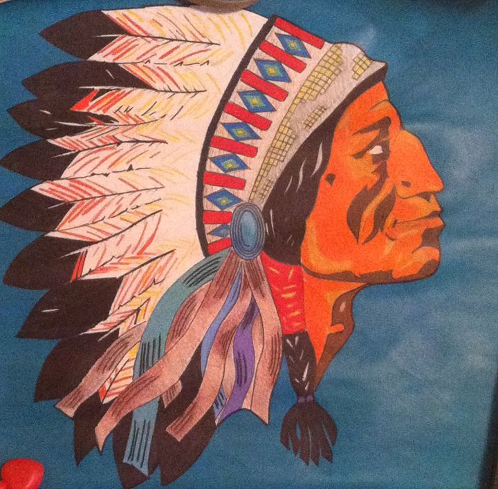 native american chief - This is My Only Craft
