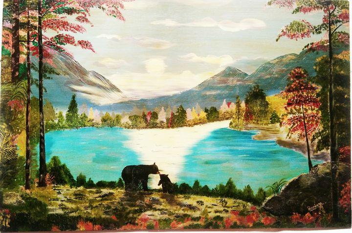 MILI ARTS- COOL VIBES - Miliarts - Paintings & Prints, Landscapes