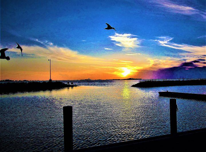 Serenty Sunset - Allen Originals