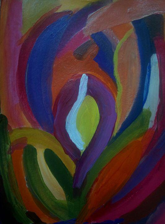 Colorful Petal - Sindhu's Paintings