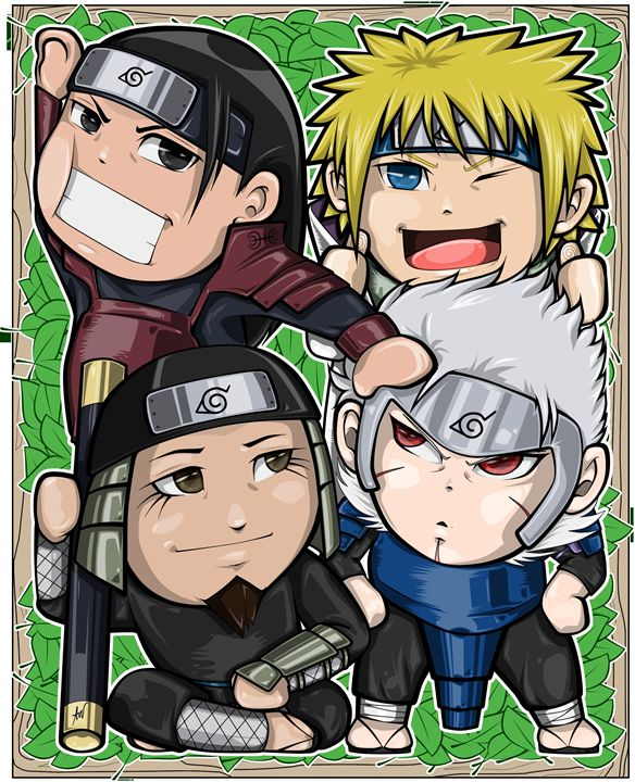 Chibi Hokages - Son of Art_Artworks