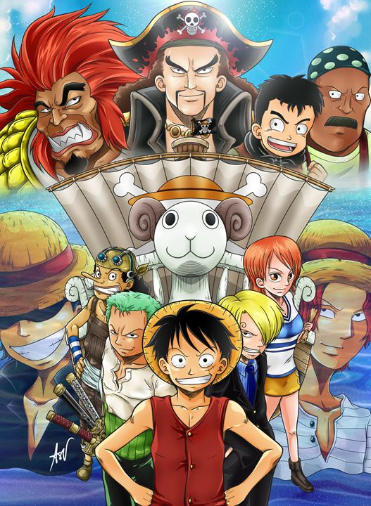 One Piece: Th Great Gold Pirate - Son of Art_Artworks