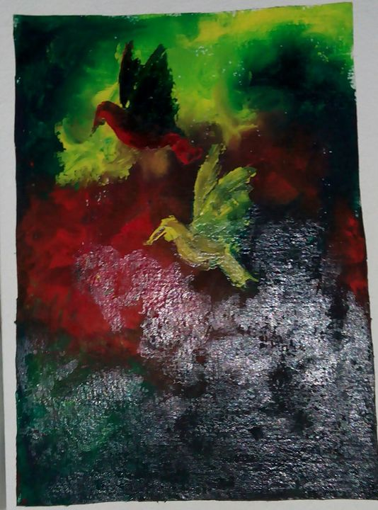 color birds - mukuldeep maiti