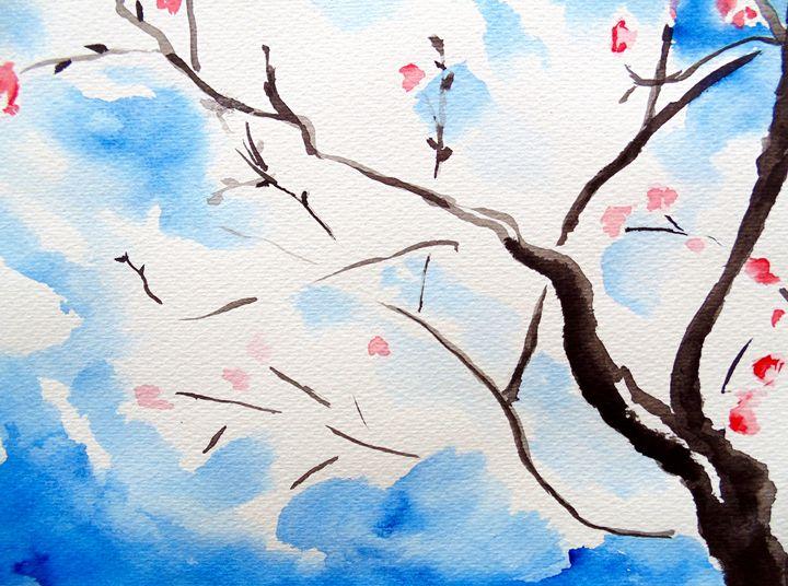 Cherry on the Mountainside - Chris Hanna