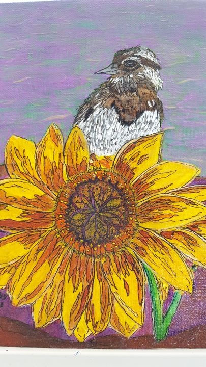 Sunflower - Gayle Lowe