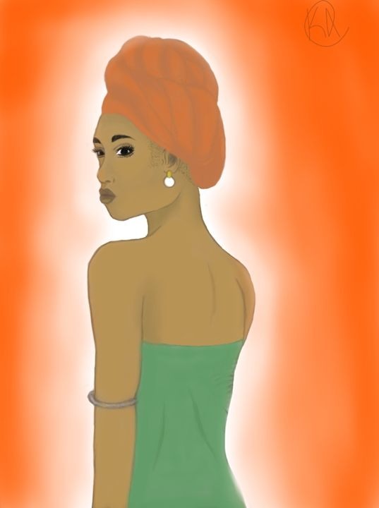 African beauty - Wonderfully witchy