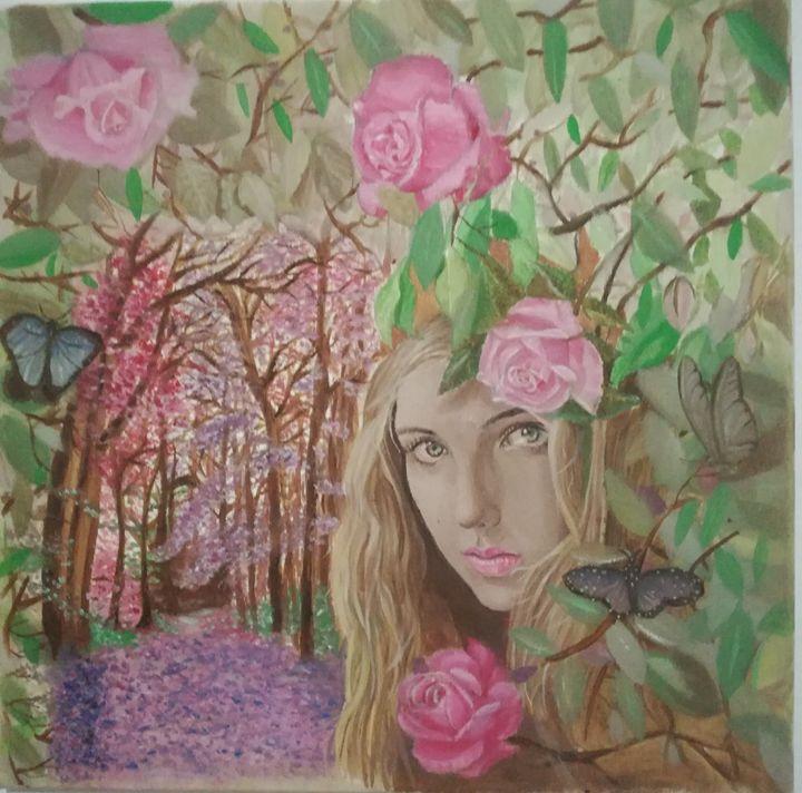 girl of the forest - Marios peirounakis
