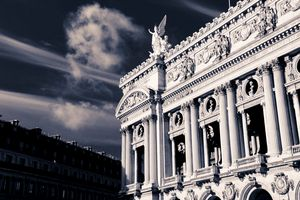 Angel On The Palais Garnier Opera Ho