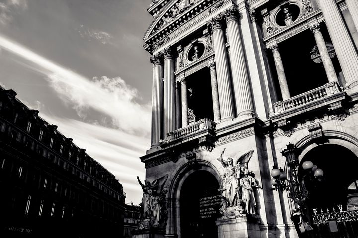 Angels Of Paris - Christopher Maxum Photography
