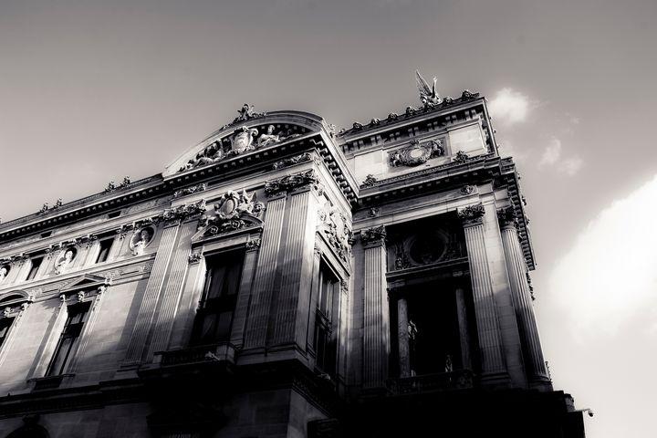 In Paris Shadows - Christopher Maxum Photography