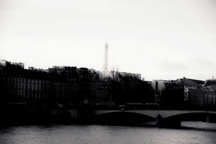 Across the Seine - Christopher Maxum Photography