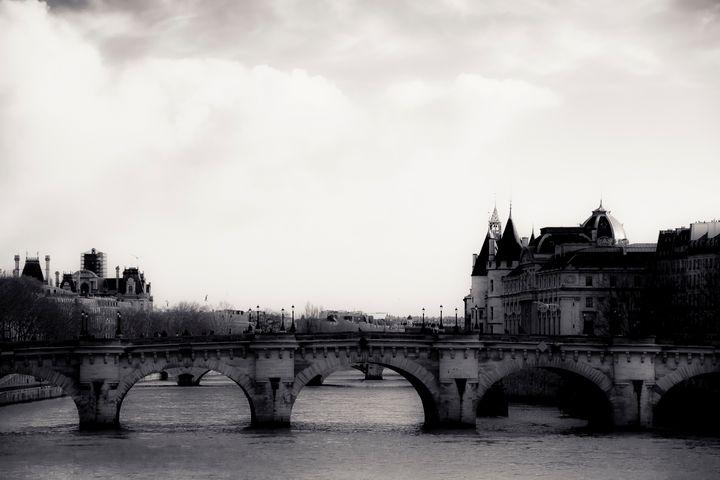 Bridges Of The Seine - Christopher Maxum Photography