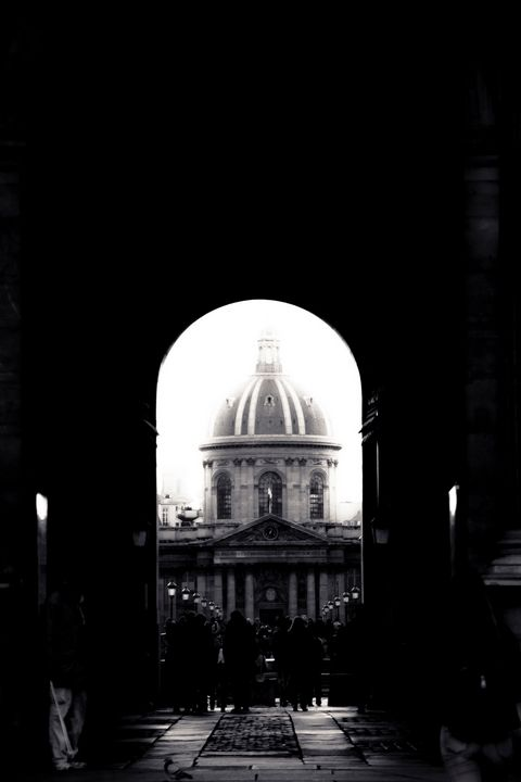 A View Of The Institut De France - Christopher Maxum Photography