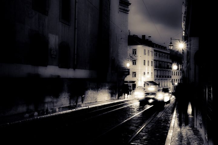 Streets of Lisbon - 1 - Christopher Maxum Photography