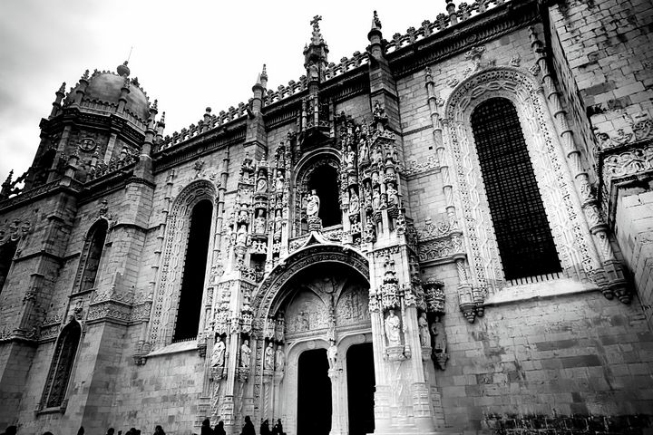 Pilgrims to the Jeronimos Monastry - Christopher Maxum Photography