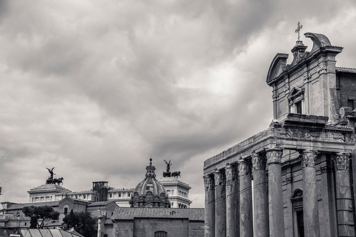 The Forum Temples - Christopher Maxum Photography