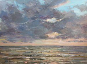 Sea before rain
