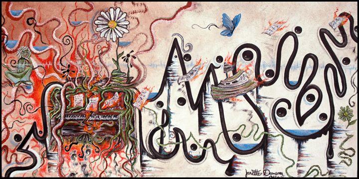 Obsessions - Blue Dragon Medicine Art