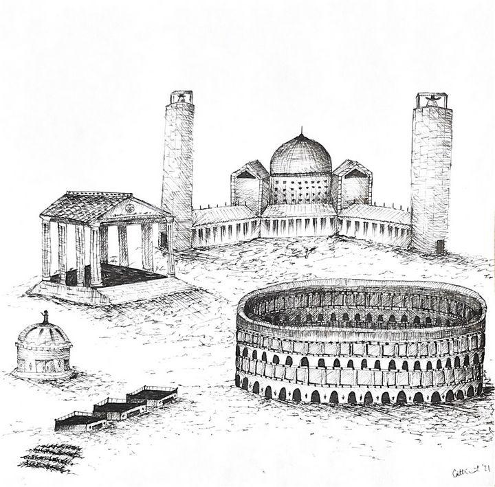 Roman Times - Created by Caitlin
