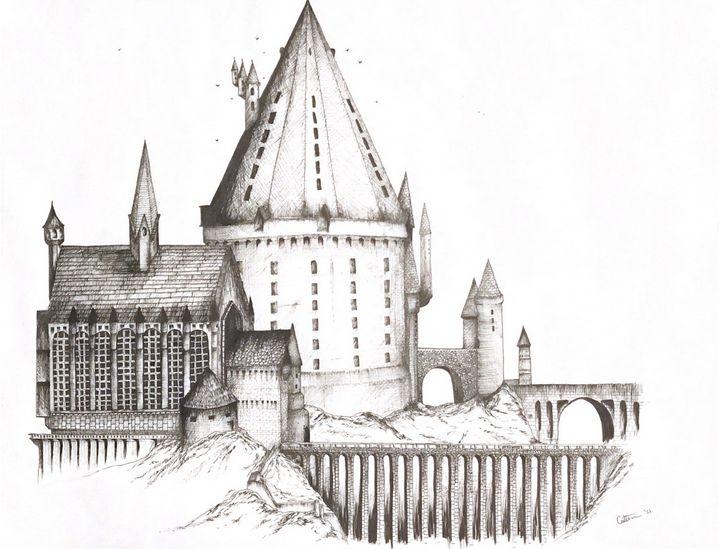 Hogwarts Castle - Created by Caitlin