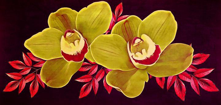 Yellow Orchids - Wilson Colfax