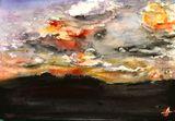 Aquarelle 26x18cm Bockingford rough