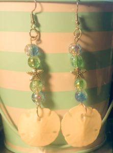StarFish & Real Sand Dollar Earrings