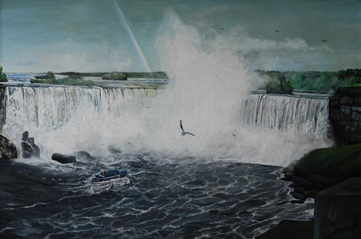 9.        Niagara Falls. - Art Galeery Leonid