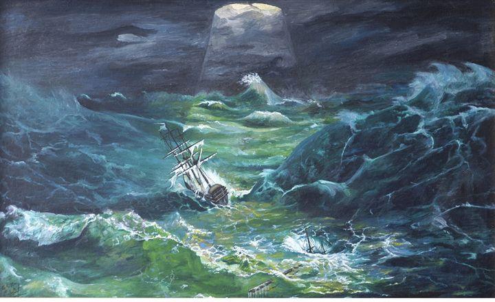 10.      Tsunami. - Art Galeery Leonid
