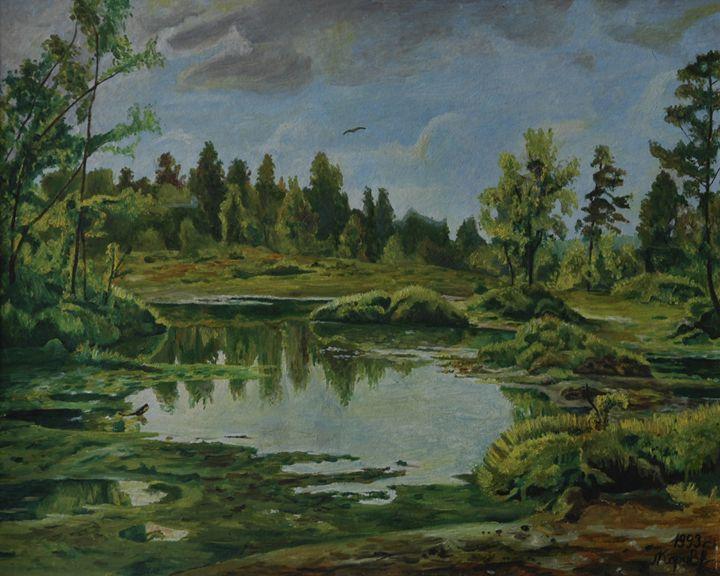 6.  The swamp. - Art Galeery Leonid